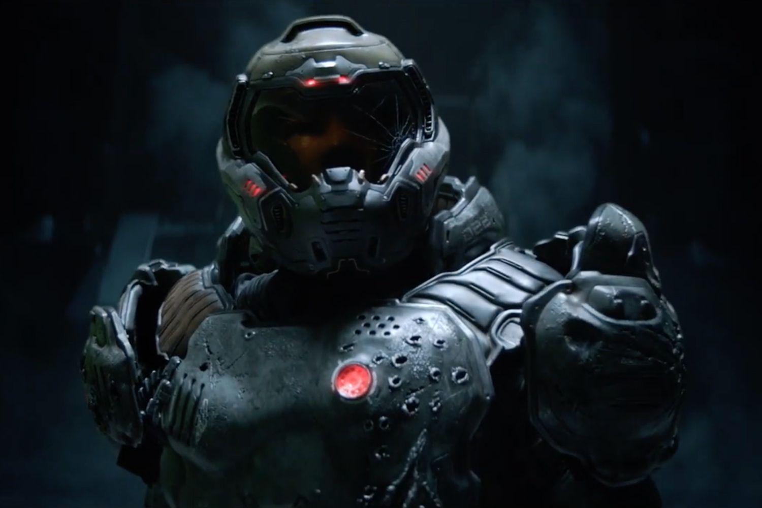 The Marine Fights Like Hell in the Latest 'DOOM' Trailer