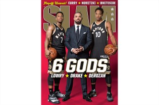 Drake Joins Kyle Lowry and DeMar Derozan in Upcoming Issue of SLAM Magazine