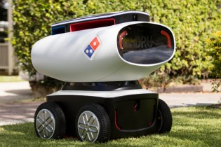 Meet DRU, Domino's Pizza Delivery Robot