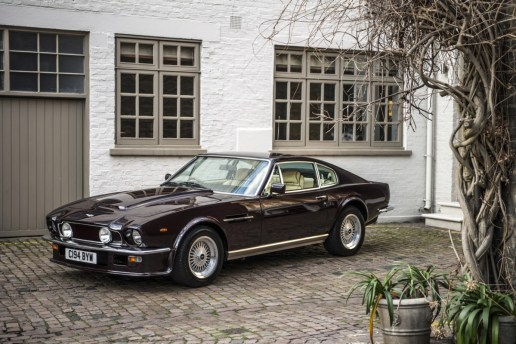 Elton John's Aston Martin V8 Vantage Saloon Is a Beast of British Motoring