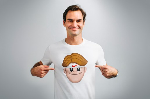 NikeCourt Honors Roger Federer's Love of Emojis With a New Collection