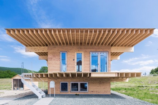 The 'Hat H' House's Oversized Roof Keeps Things Affordable and up to Code