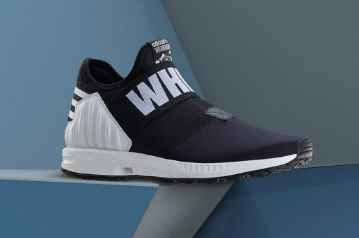 A First Look at the White Mountaineering x adidas Originals ZX Flux Plus and Riviera