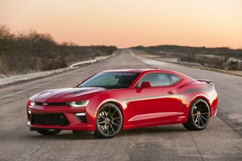 The 2016 Hennessey Performance Camaro SS Breaks the 200MPH Barrier