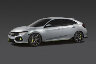 The Honda Civic Hatchback Prototype Hits the Big Apple