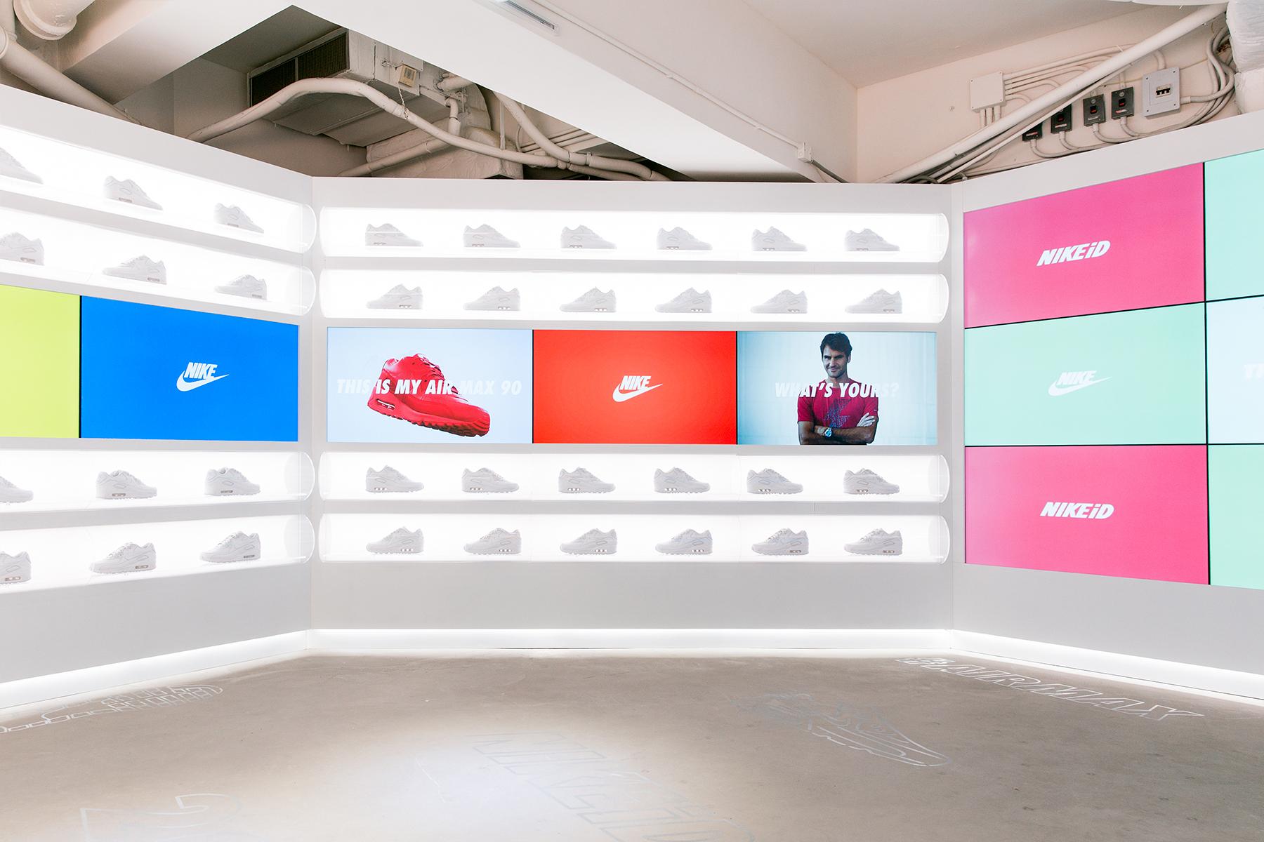 Inside Hong Kong's Dedicated NIKEiD Air Max Pop-up Shop