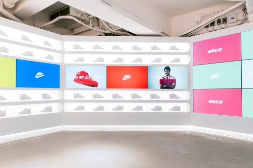 Inside Hong Kong's Dedicated NIKEiD Air Max Pop-up Shop
