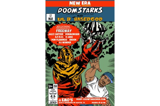 "New Era x HYPETRAK Present DOOM & Ghostface Killah as DOOMSTARKS and Lil B ""The BasedGod"""