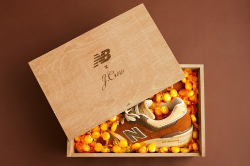 Upcoming J.Crew x New Balance Collaboration Receives Inspiration From a Classic Candy