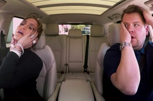 "Jennifer Lopez Connects With James Corden on the Latest Installment Of ""Carpool Karaoke"""