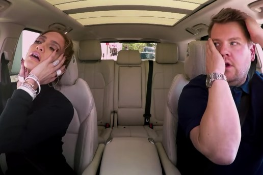 """Jennifer Lopez Connects With James Corden on the Latest Installment Of """"Carpool Karaoke"""""""