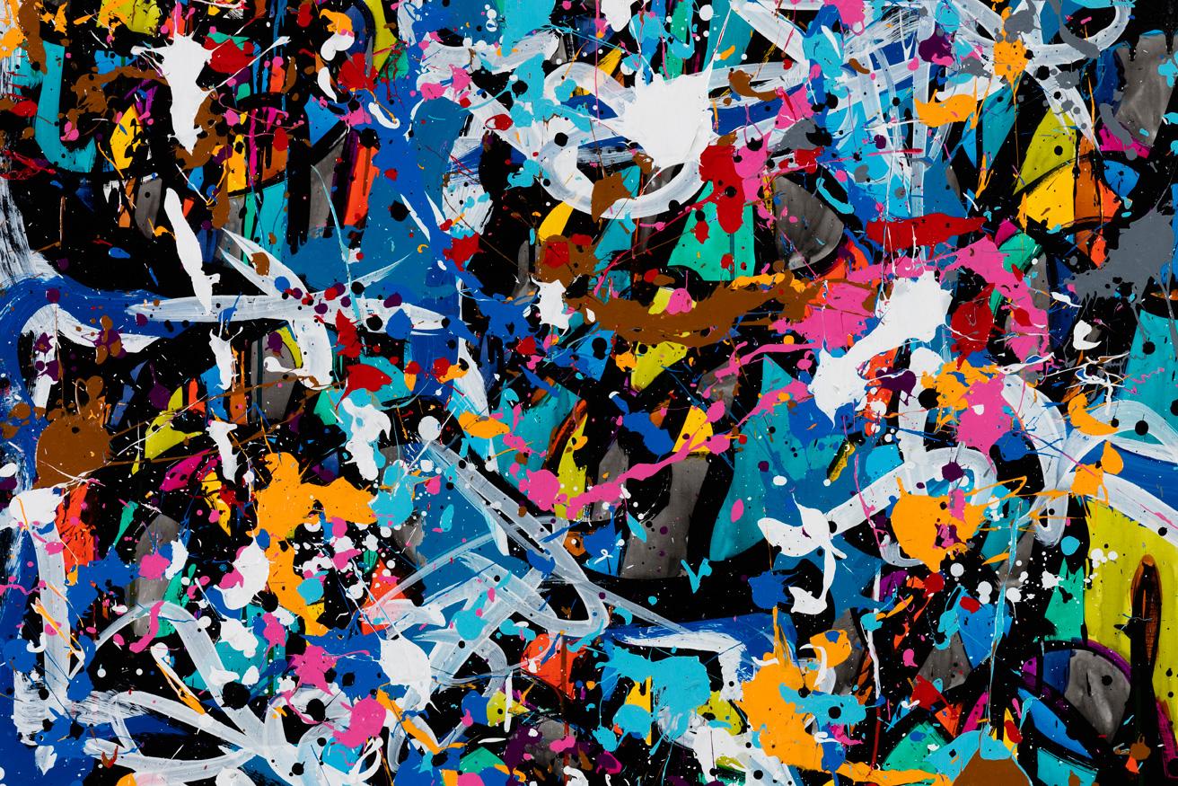 "JonOne ""Predictably irrational"" Exhibition @ Wunderkammern Milan"