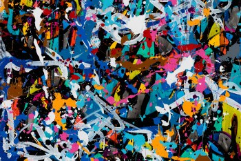 "JonOne ""Predictably irrational"" Exhibition @ Wunderkammern Milan"