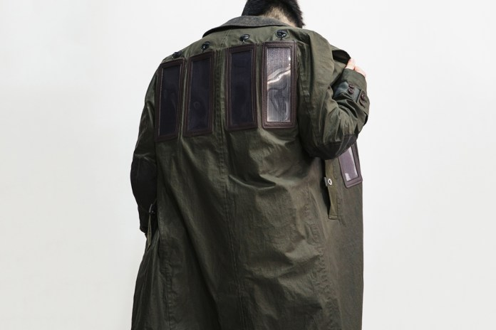 Junya Watanabe Wades Into the Wearable Tech Game With a Solar-Powered Trench Coat