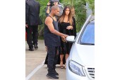 Kanye West Spotted Wearing Black Yeezy Boost Release With a Translucent Sole