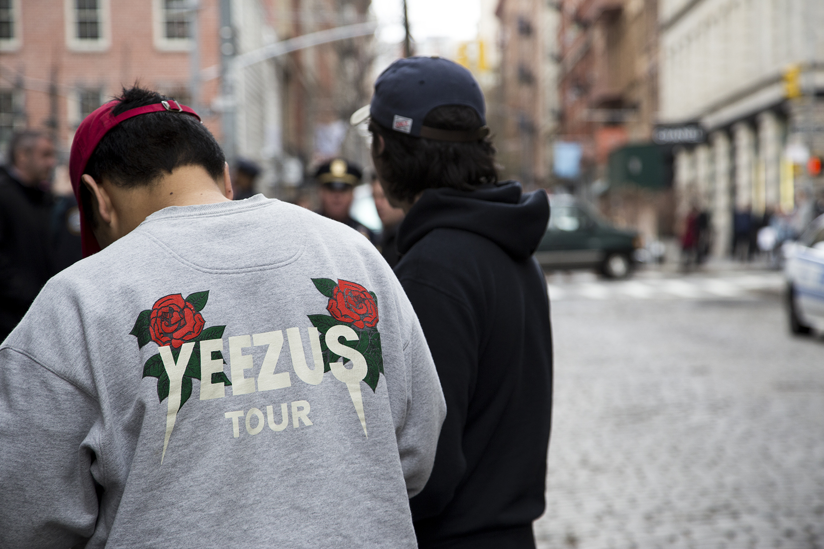 Kanye West Devotees Invade SoHo NYC for 'The Life of Pablo' Pop-Up Shop