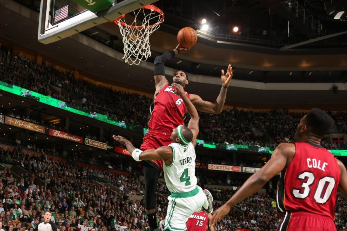 The King Takes Flight: A Mix of LeBron James's Best Career Dunks