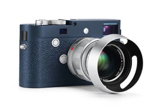 Leica Releases an Exclusive Blue-Hued M-P