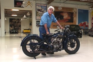 Jay Leno Gives a History Lesson on the 1931 Indian Scout