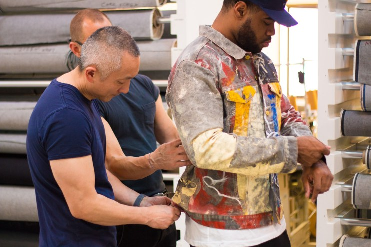 Levi's® Eureka Lab Taps Jay West for a Pop-Expressionist's Intrepretation of the Trucker Jacket