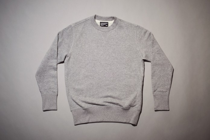 LOOPWHEELER Drops an Exclusive Range of Crewnecks for Monocle