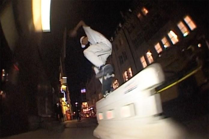 Lucien Clarke Rips Through London in This Digital Dash VHS Re-Edit
