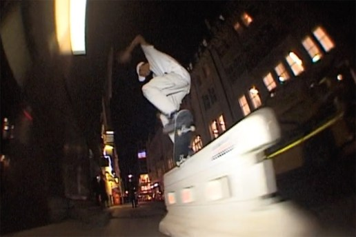 Lucien Clarke Rips Through London in This Digital Dash VHS Re-Edit