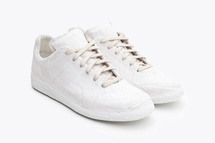The Maison Margiela Replica Sneaker Gets Plastered