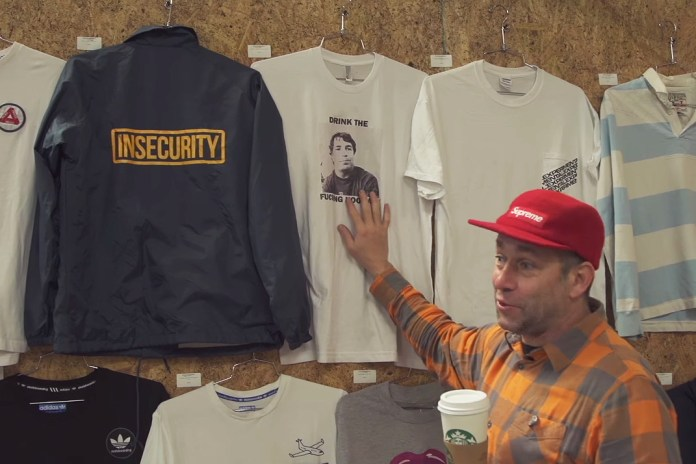 "Mark Gonzales Shows off Old Streetwear & Skate Decks in ""Storage Space"" Art Installation"