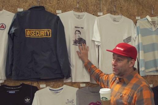 "Mark Gonzales Shows off Old Streetwear & Skate Decks in ""Storage Space"" Art Installation"