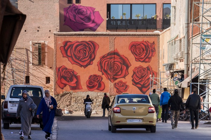 Marrakech Biennale Introduces a Street Art Program