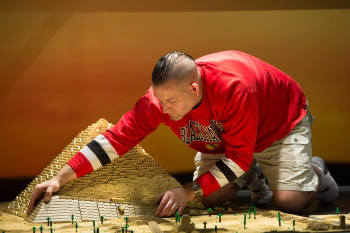 Check out the Architectural Feats of a Certified Master LEGO Builder