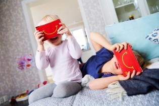 McDonald's Introduces a Happy Meal Box That Tranforms Into a VR Headset
