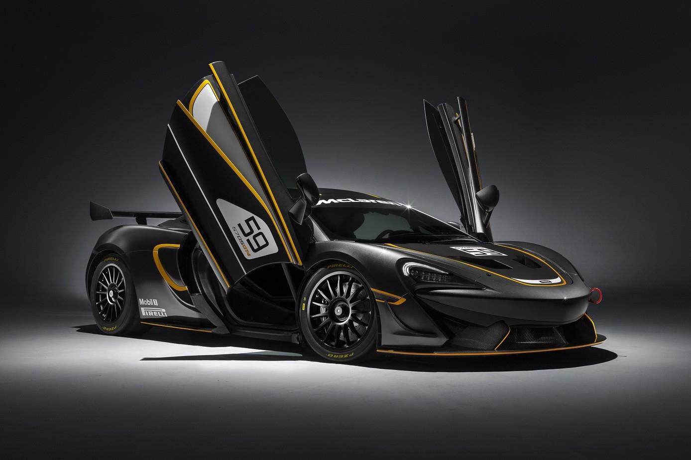 McLaren Unveils the Track-Ready 570S GT4