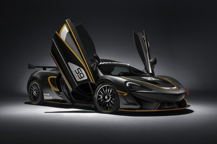 McLaren Unveils the Track-Ready 570S GT4