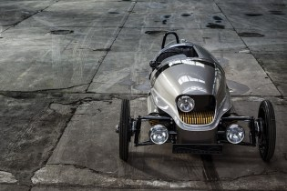 Morgan's EV3 Is an All-Electric 3-Wheeler