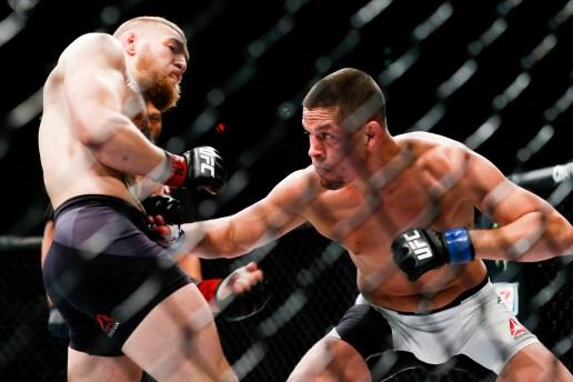 Nate Diaz Stuns Conor McGregor at UFC 196