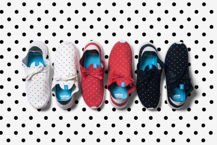 "Native Apollo Moc ""Polka Dot"" Pack"