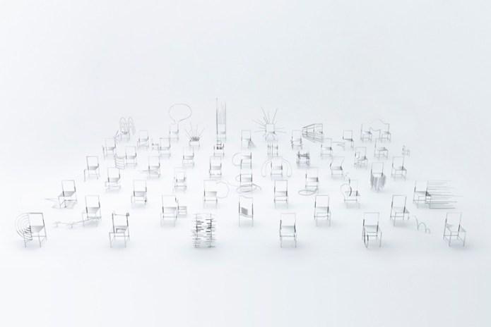 nendo Designed 50 Chairs Inspired by Manga