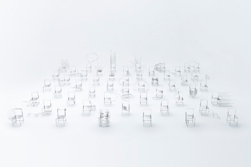 nendo Designed 50 Chairs Inspired by Manga
