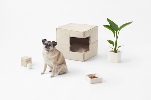 nendo's Cubic Pet Goods Are Perfect for the Modern Minimalist Pooch