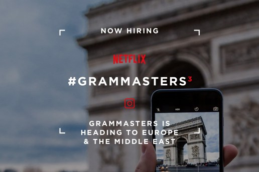 Netflix Is Hiring Instagram Users to Travel and Take Pictures