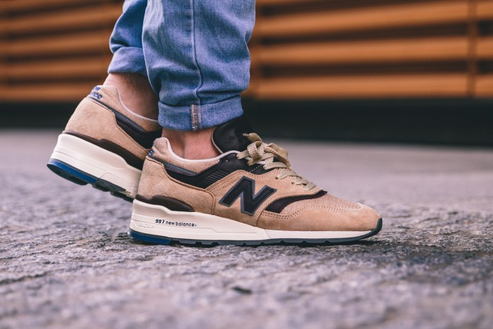 "Get Ready for Spring With the New Balance 997 ""Explore by Sea"""
