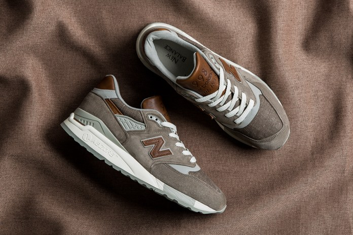 The New Balance M998 Grey/Brown Is All Class