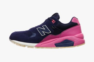 "New Balance MRT580 ""Navy and Pink"""