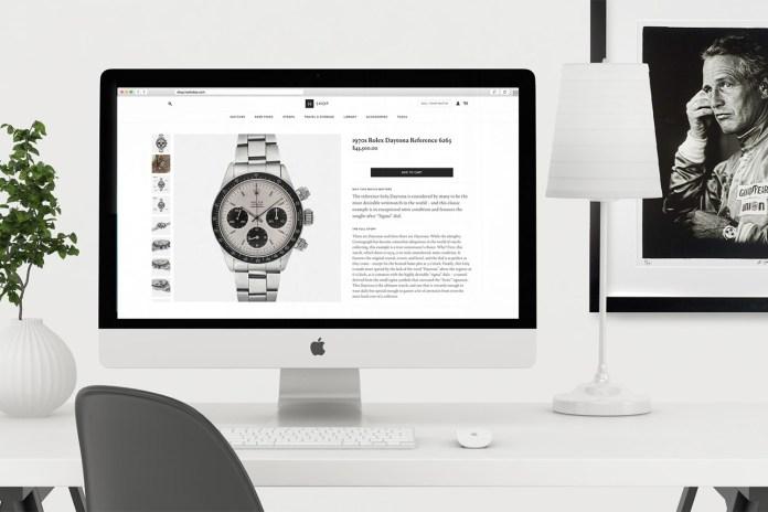 HODINKEE Launches an Overhauled Web Shop