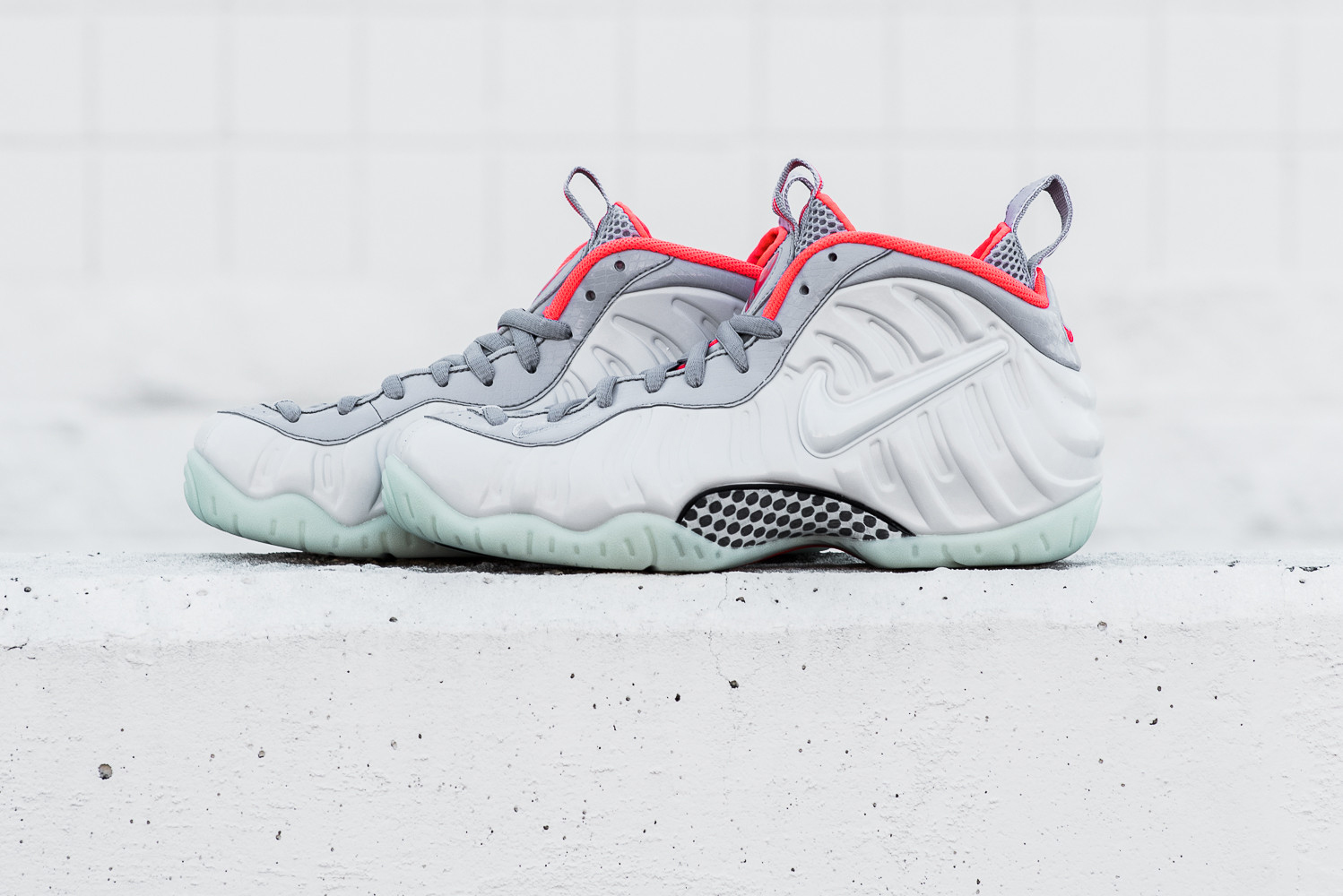 """A Closer Look at the Nike Air Foamposite Pro PRM """"Pure Platinum"""""""