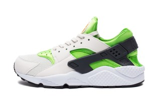 "Nike Air Huarache ""Action Green"""