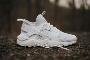 "Nike Air Huarache Run Ultra BR ""Triple White"""