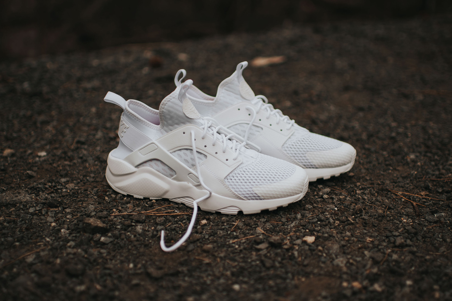 Nike Air Huarache Run Ultra White
